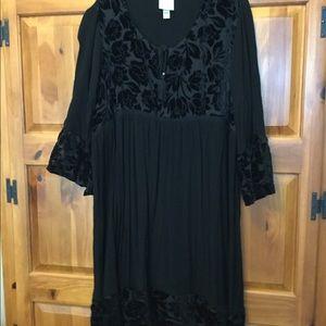 Black dress xxL